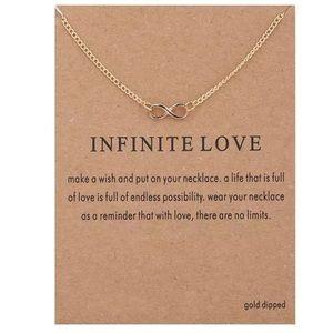 Jewelry - NEW!! ♾ Infinite Necklace